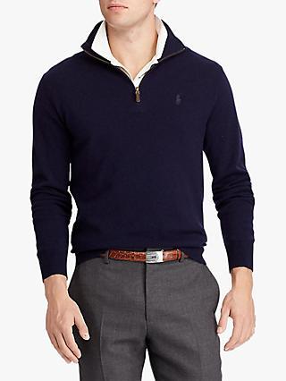 ac0f8ea8b Polo Ralph Lauren Half Zip Jumper
