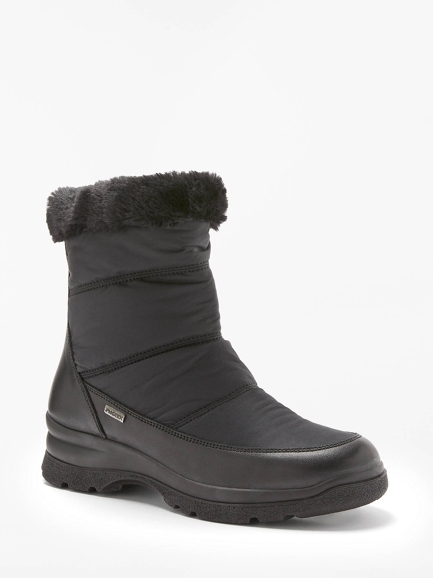 Buy John Lewis & Partners Designed for Comfort Patrice Waterproof Ankle Boots, Black, 4 Online at johnlewis.com