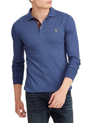 075403878bb8 Polo Ralph Lauren Long Sleeve Pima Polo Shirt