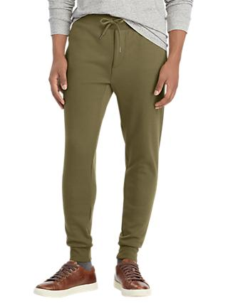 Polo Ralph Lauren Jersey Jogger Trousers, Defender Green