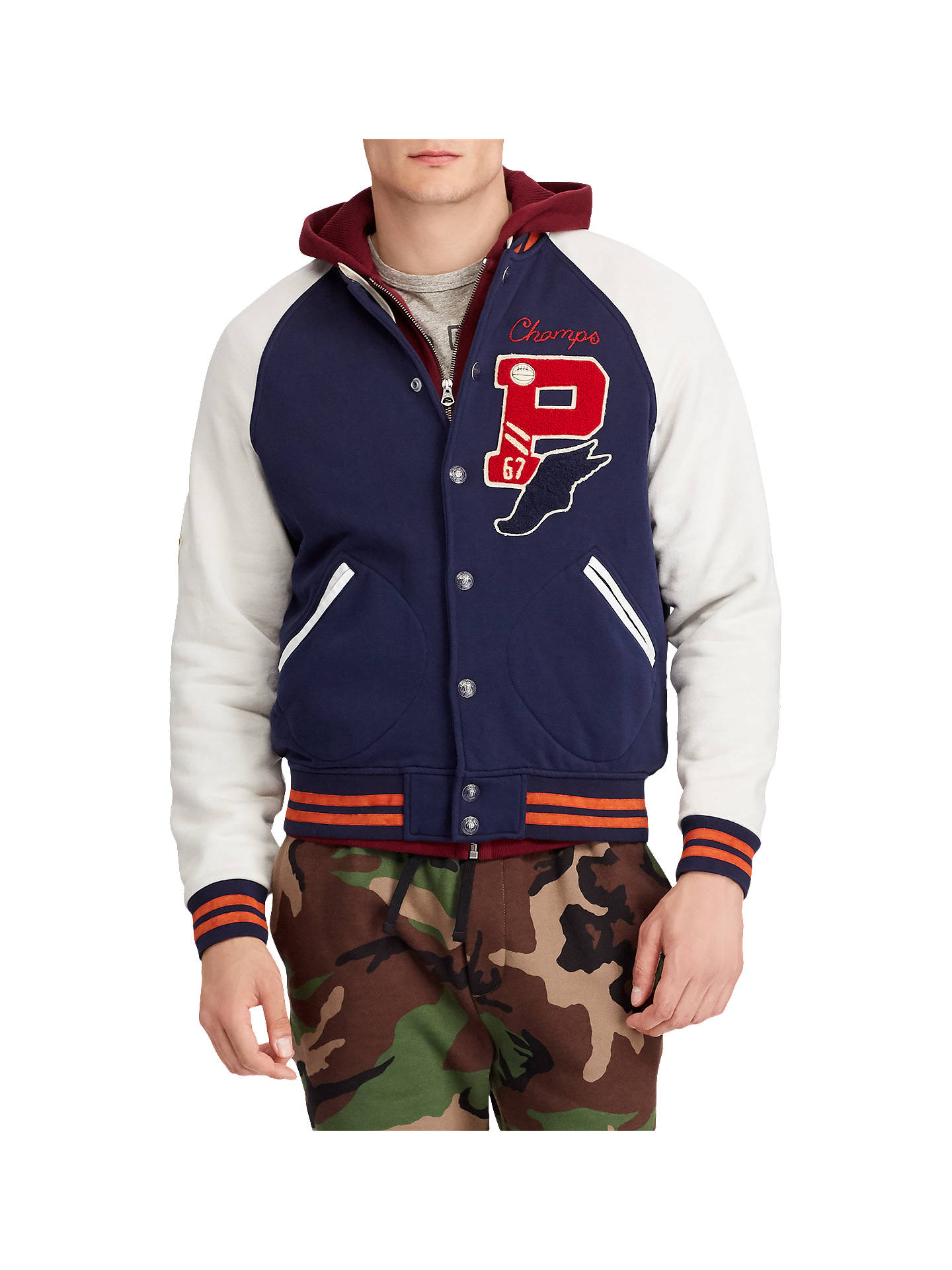 618cb9b3776 BuyPolo Ralph Lauren Baseball Patch Jacket