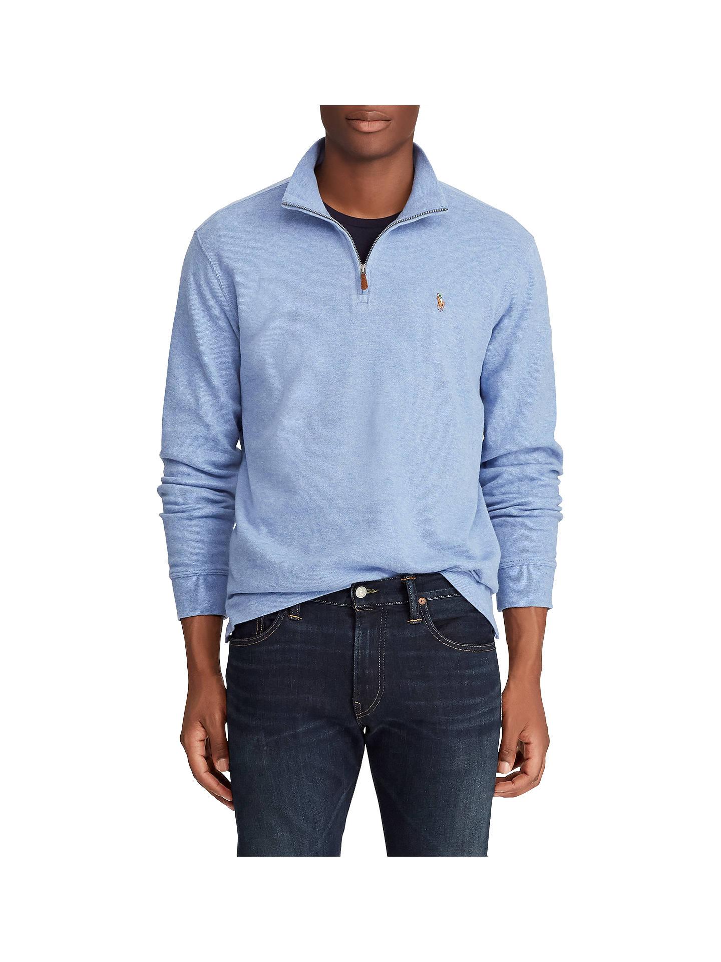 47a0bb7e2 Buy Polo Ralph Lauren Pima Half Zip Pullover