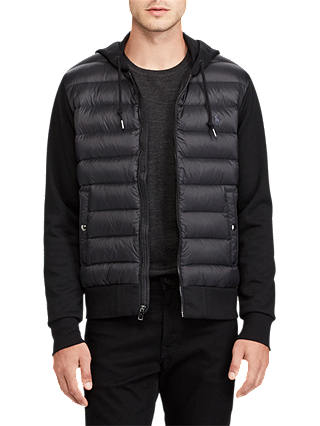 Buy Polo Ralph Lauren Hybrid Vest, Polo Black, XL Online at johnlewis.com