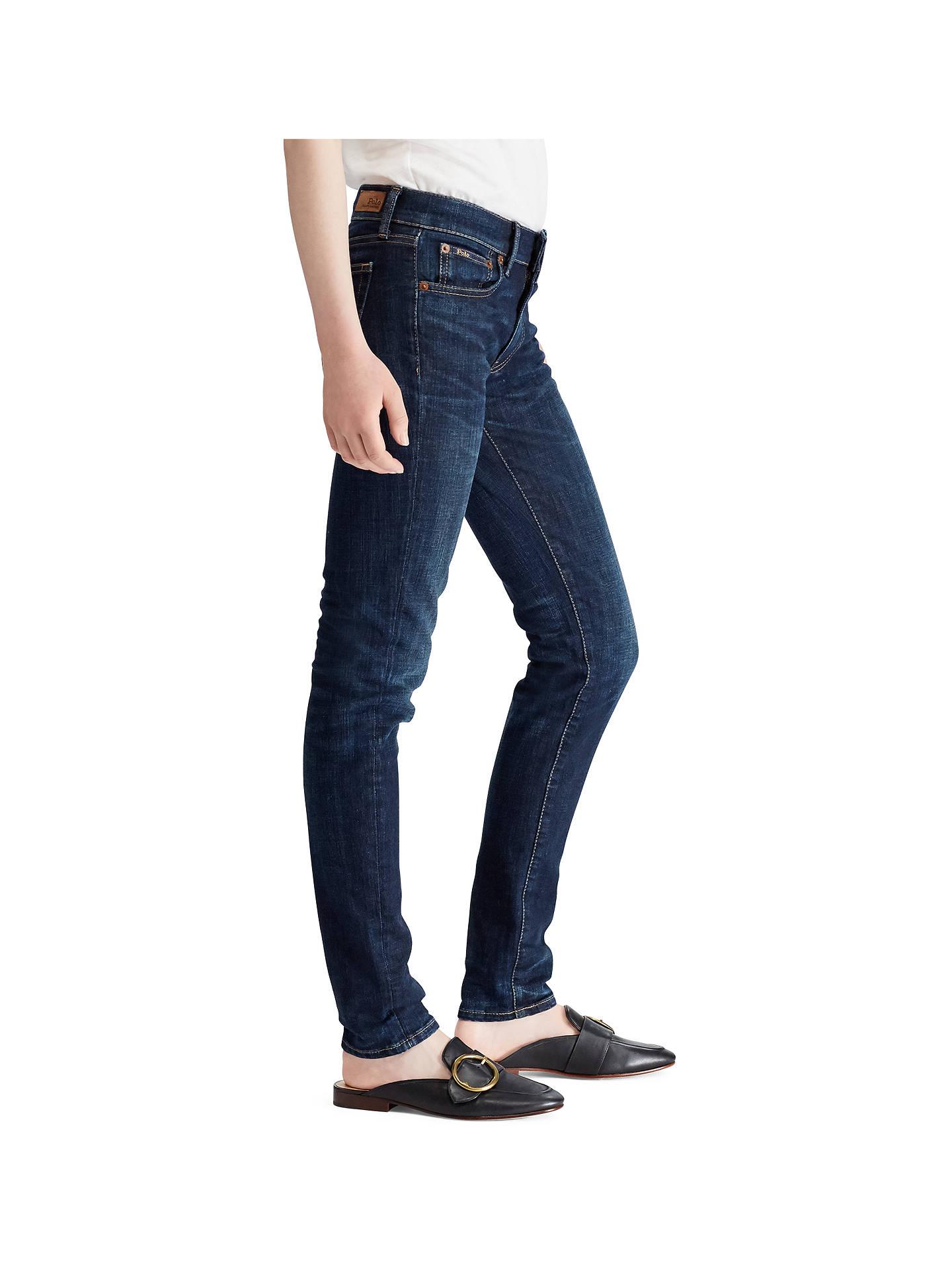 Indigo John Wash Serret Polo Tompkins Skinny Ralph At Jeans Lauren XFWgBT7