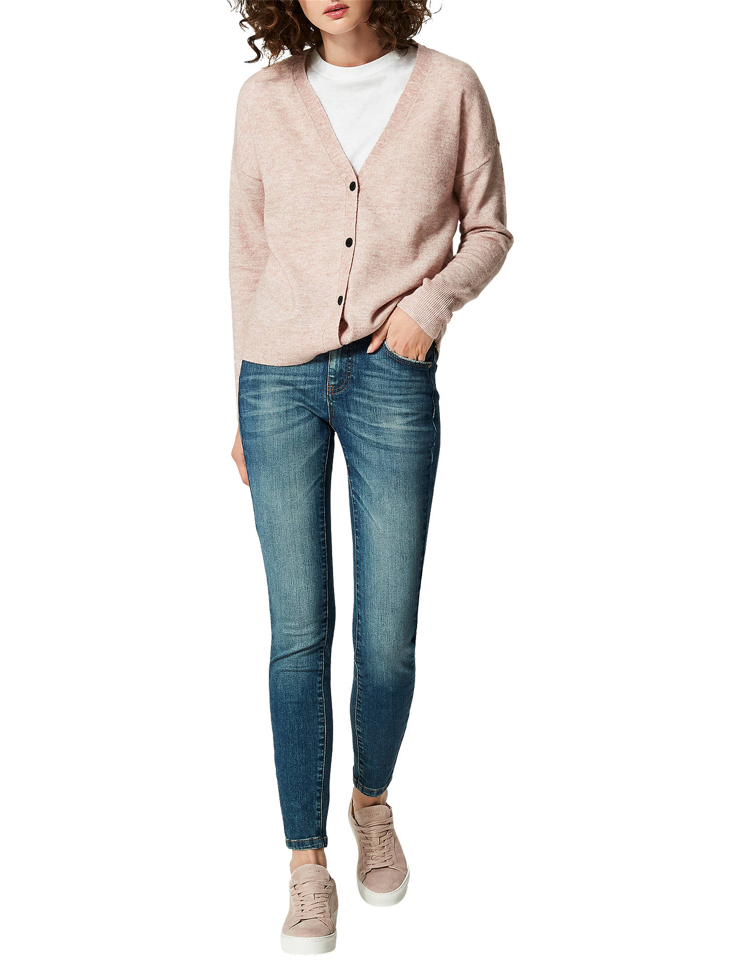 Buy Selected Femme Sfida Jeans, Mid Blue, 25 Online at johnlewis.com