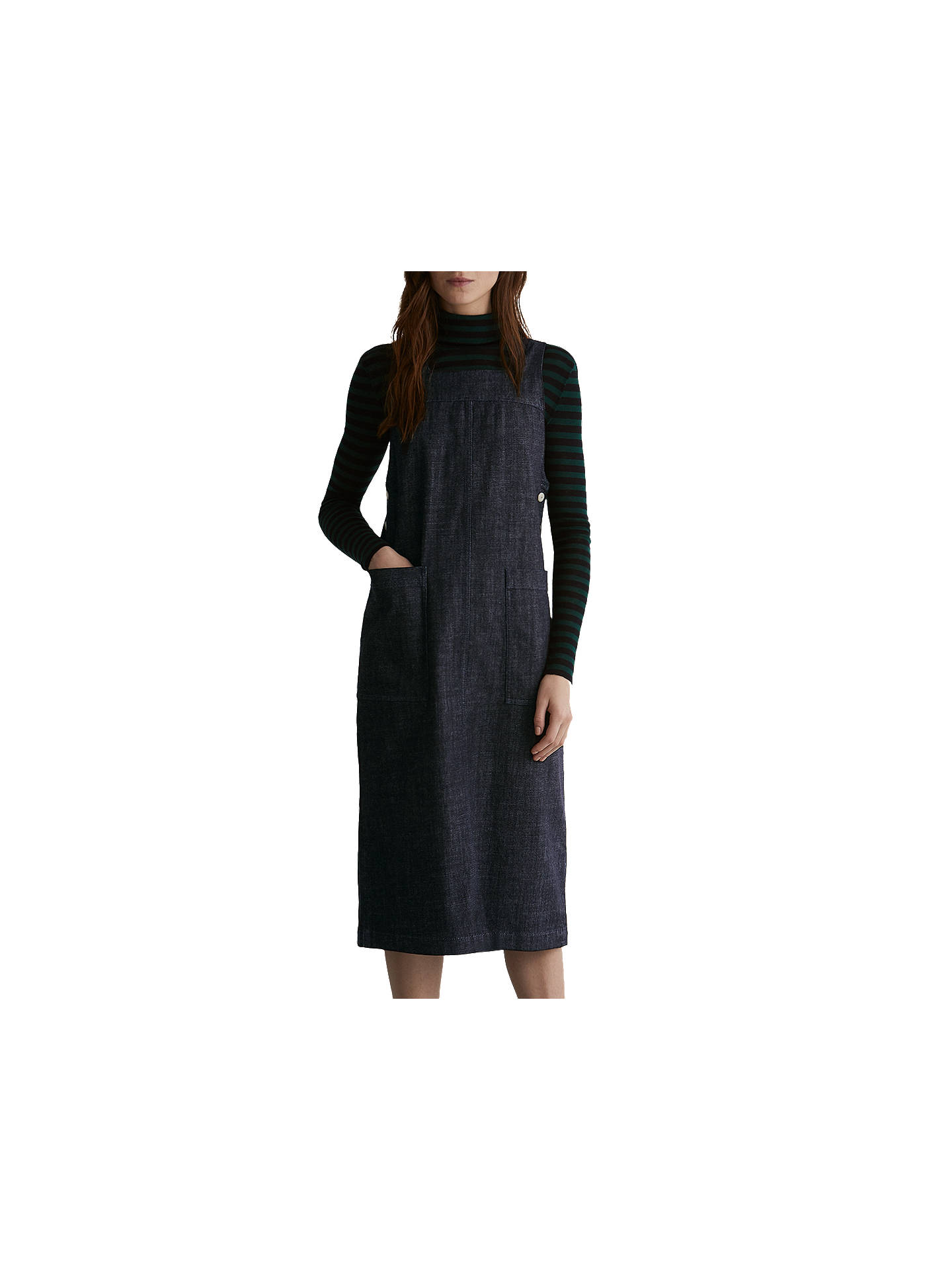 BuyToast Denim Apron Dress, Indigo, 8 Online at johnlewis.com