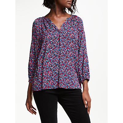 Collection WEEKEND by John Lewis Lavinia Viola Floral Shirt, Multi