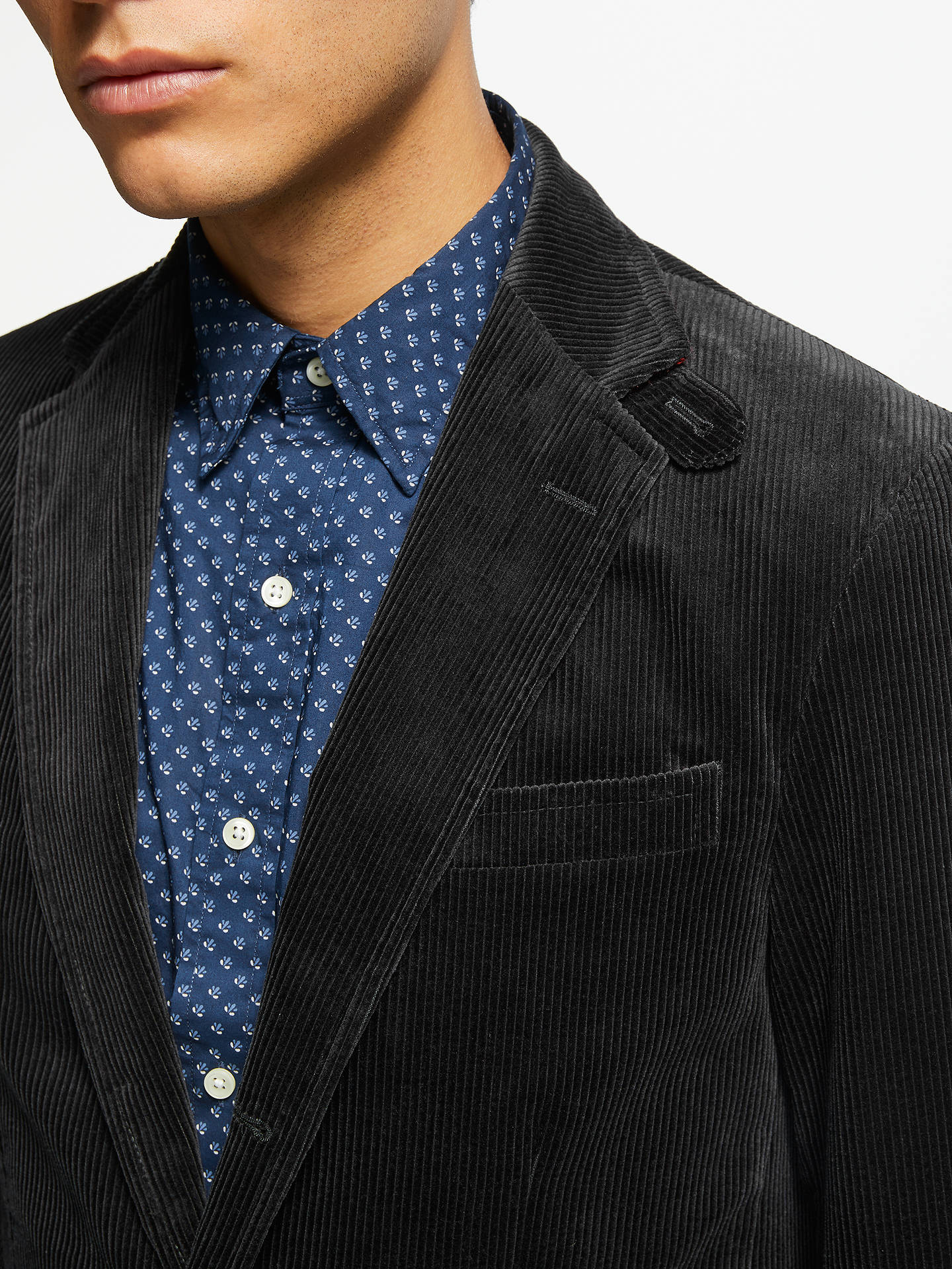 Buy Polo Ralph Lauren Corduroy Blazer, Black, XL Online at johnlewis.com