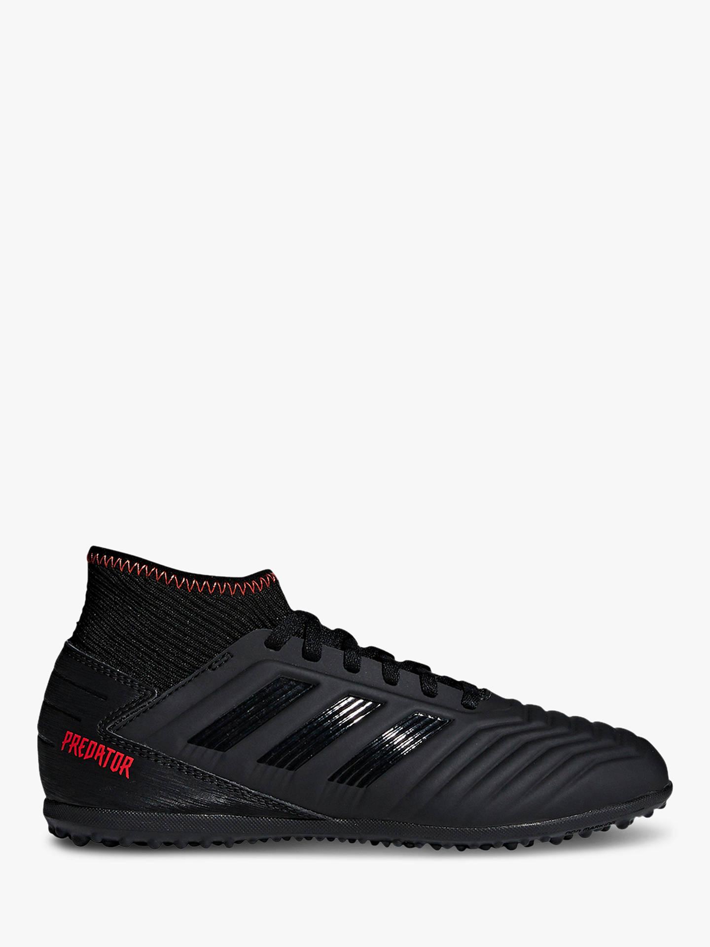 ab74affd8db adidas Children's Predator Tango 19.3 Turf Football Boots, Core  Black/Active Red