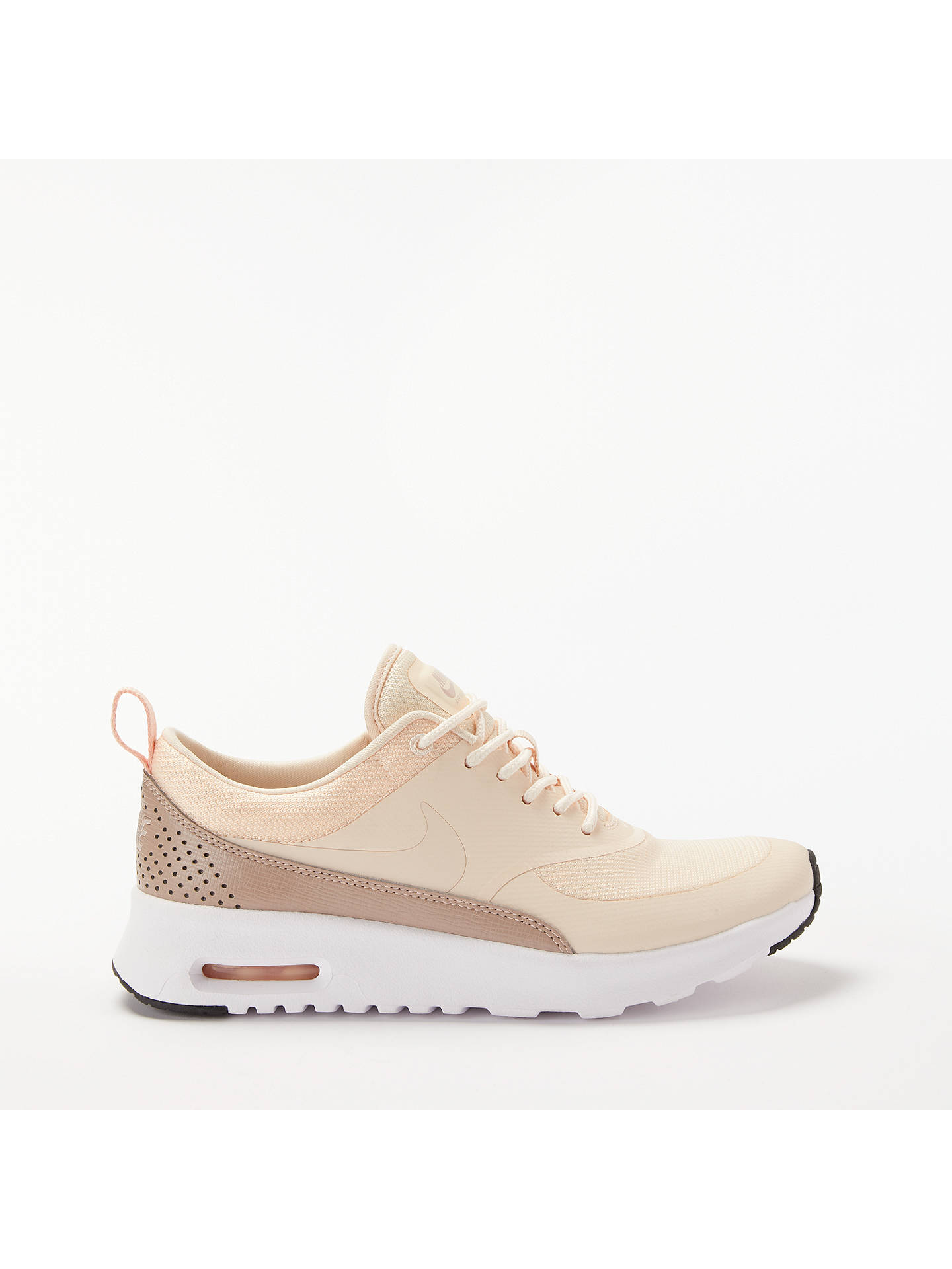 finest selection b0f7f 86340 Buy Nike Air Max Thea Women s Trainers, Guava Ice, 4 Online at johnlewis.