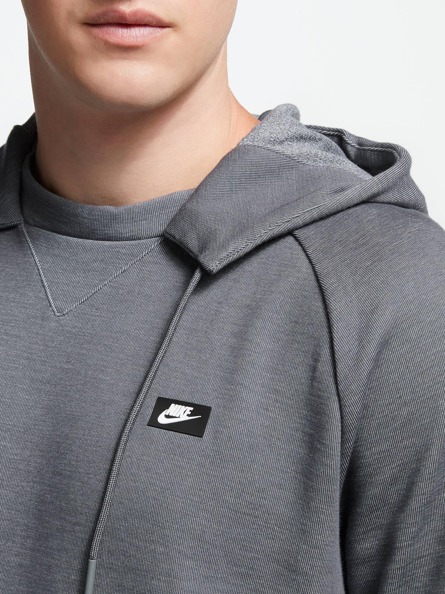 nike optic grey hoodie