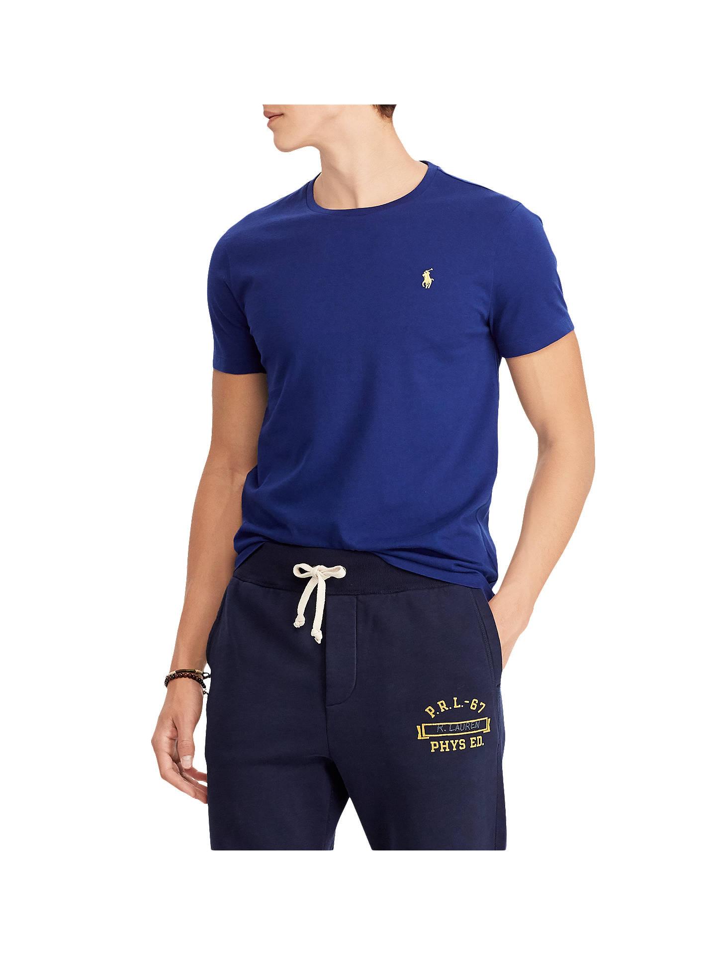 9eb478926ea23 Polo Ralph Lauren Crew Neck T-Shirt at John Lewis   Partners