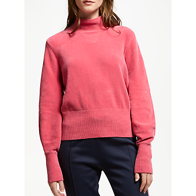 Just Female Adalet Knitted Jumper, Rapture Rose