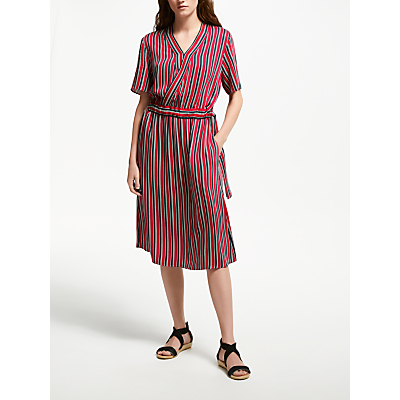 Just Female Stripe Dress, Red