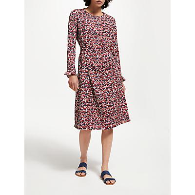 People Tree V&A Cherry Orchard Dress, Multi