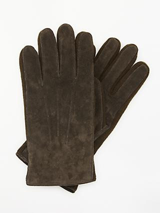 John Lewis & Partners Suede Hungarian Gloves