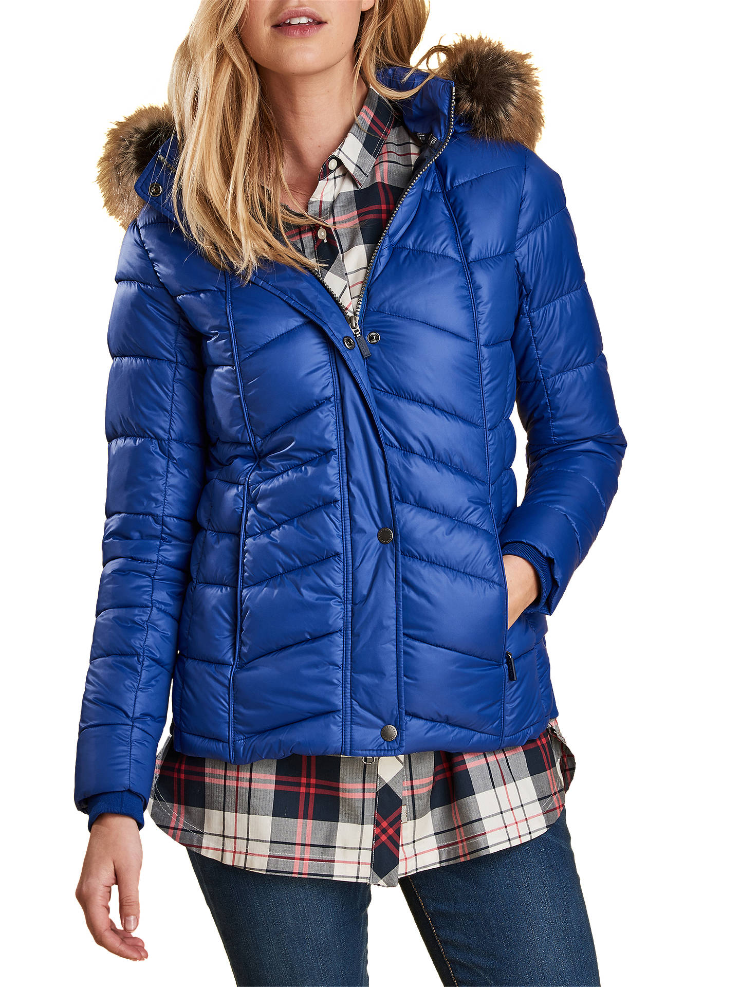 c22661e63b9d Buy Barbour Bernera Quilted Hooded Jacket
