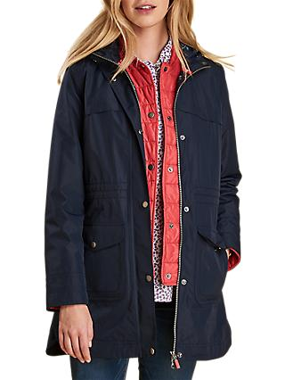 Barbour Clovelly Waterproof 3 in 1 Hooded Jacket, Navy/Reef