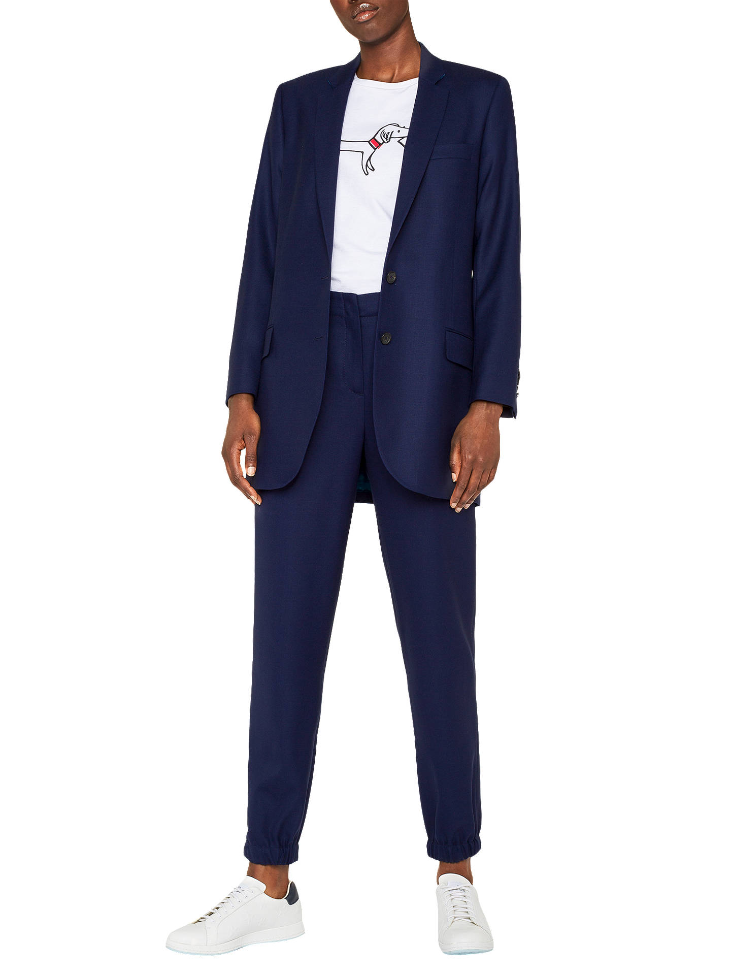 BuyPS Paul Smith Tailored Jacket, Navy, 8 Online at johnlewis.com