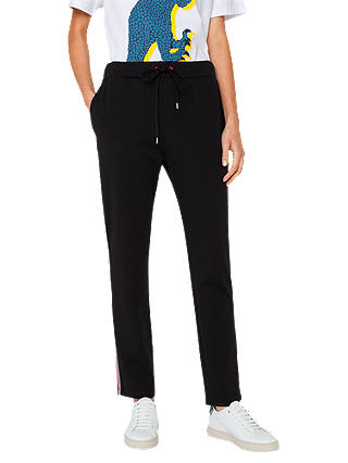 Buy PS Paul Smith Casual Trousers, Black, 8 Online at johnlewis.com