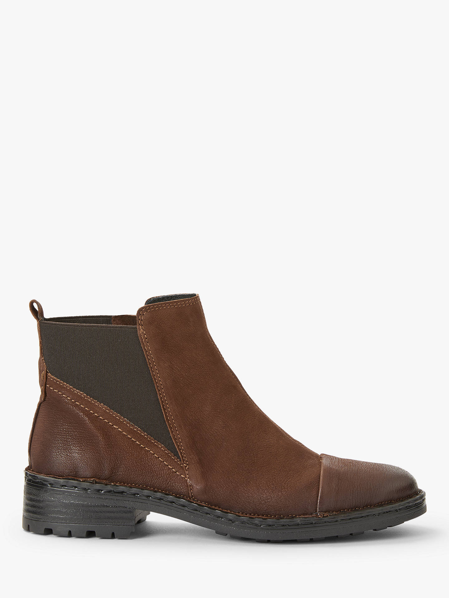 BuyJohn Lewis & Partners Designed for Comfort Pia Chelsea Boots, Brown Nubuck, 3 Online at johnlewis.com