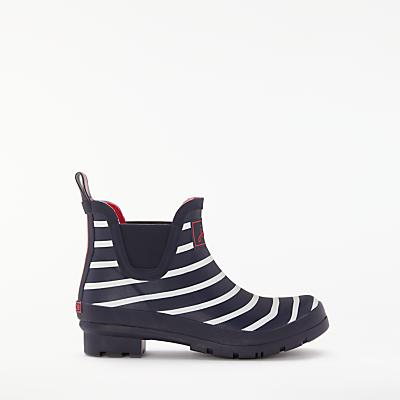 Joules Bob Stripe Wellington Ankle Boots