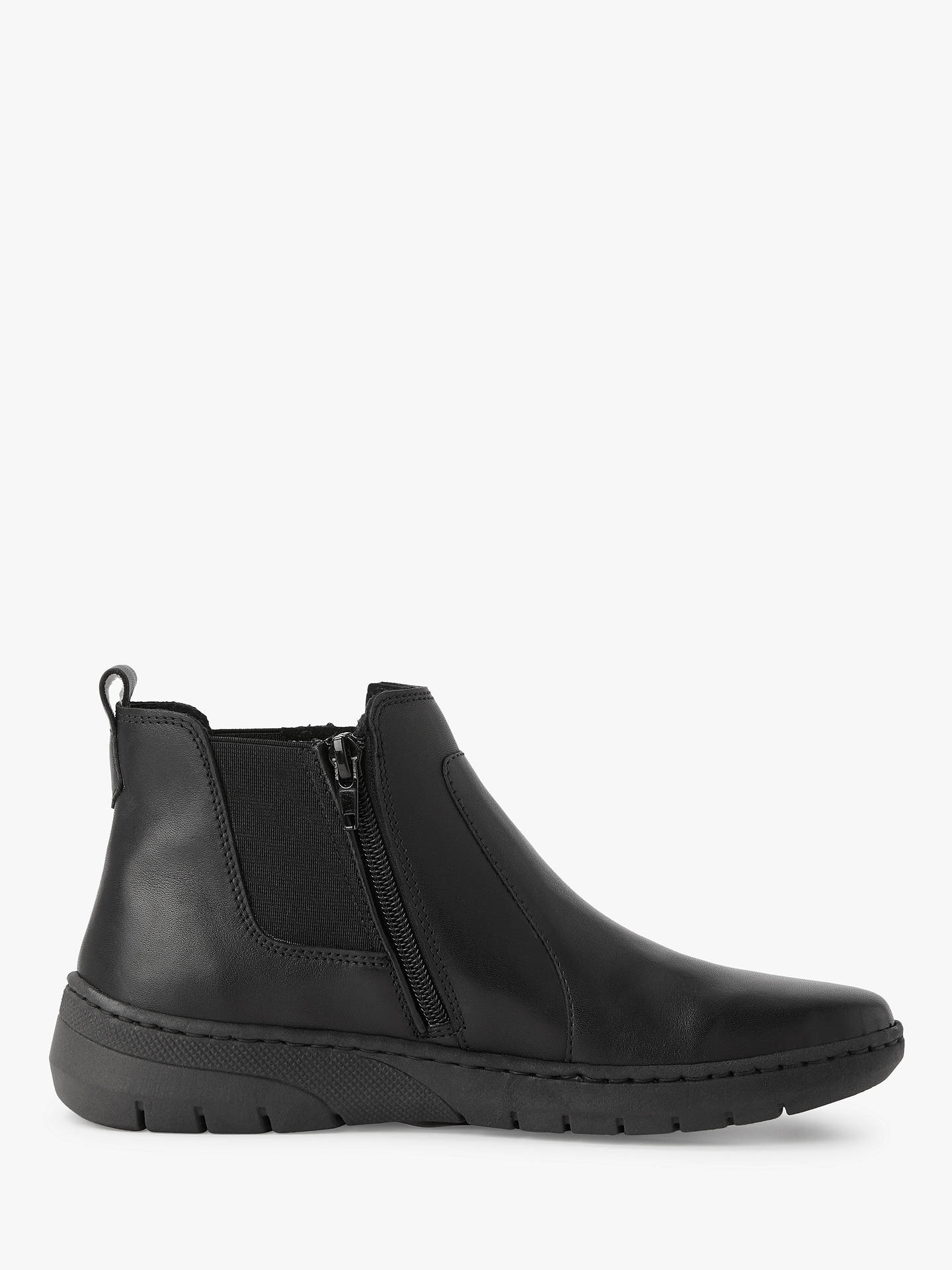 b52e5243dfba John Lewis   Partners Designed for Comfort Yale Flat Ankle Boots at ...