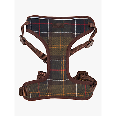 Image of Barbour Classic Tartan Dog Travel Harness