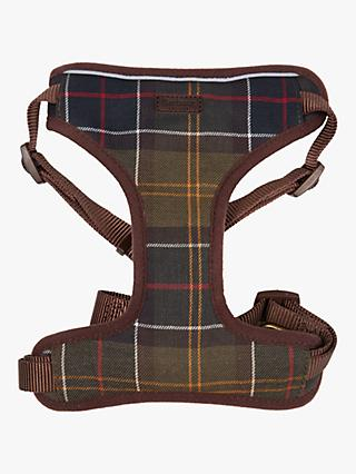 Barbour Classic Tartan Dog Travel Harness