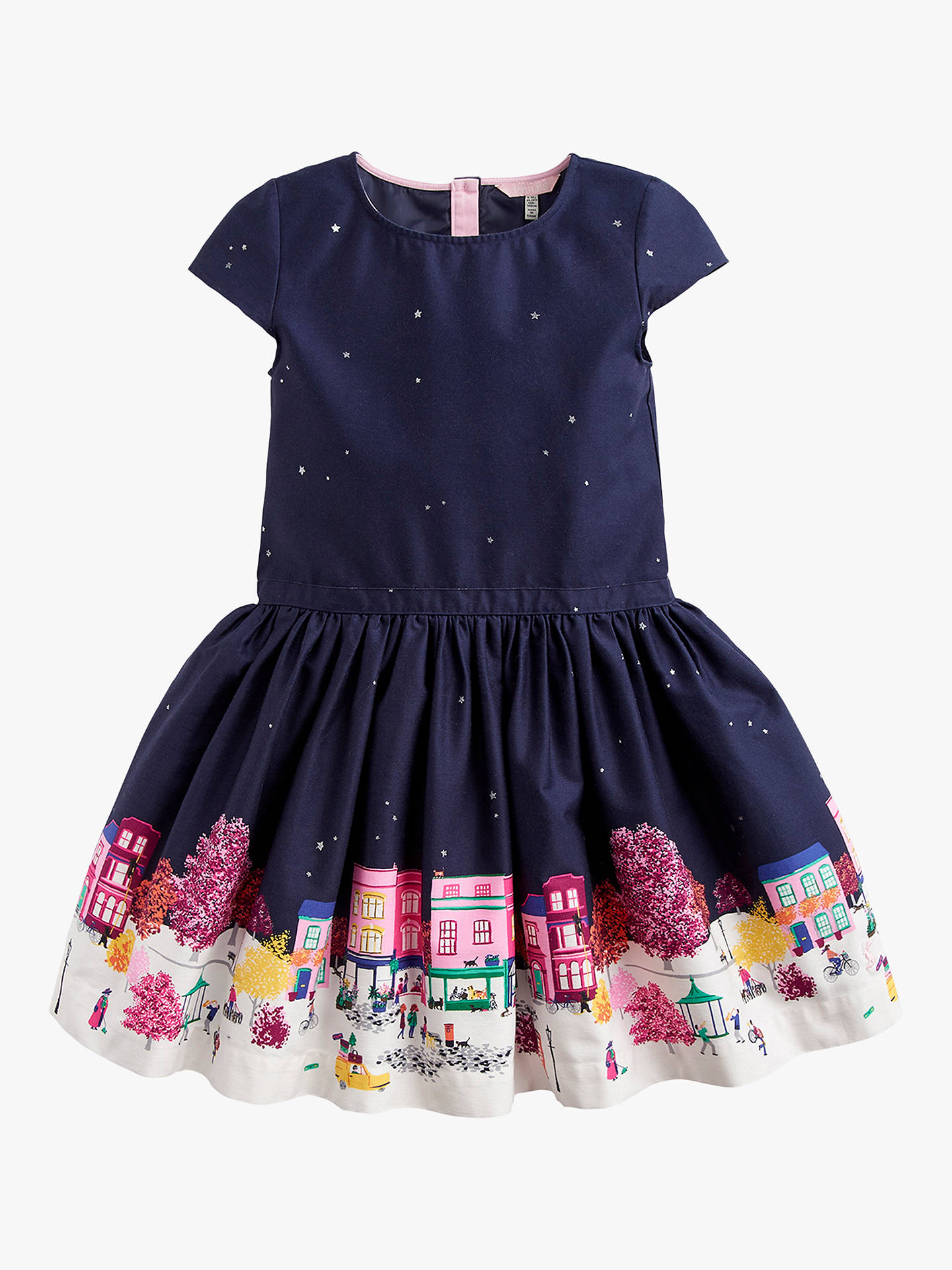 8a3d0e292747 Little Joule Girls  Amia Scene Border Dress