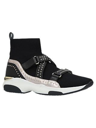 Carvela Listen Sock High Top Trainers, Black