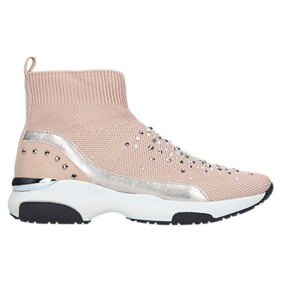 Carvela Kurt Geiger Lollie Sock High Top Trainers, Neutral
