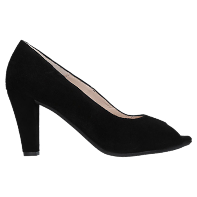 Carvela Comfort Alana Stiletto Court Shoes, Black Suede