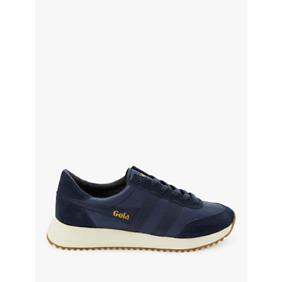 Gola Classics Montreal Lace Up Trainers, Blue