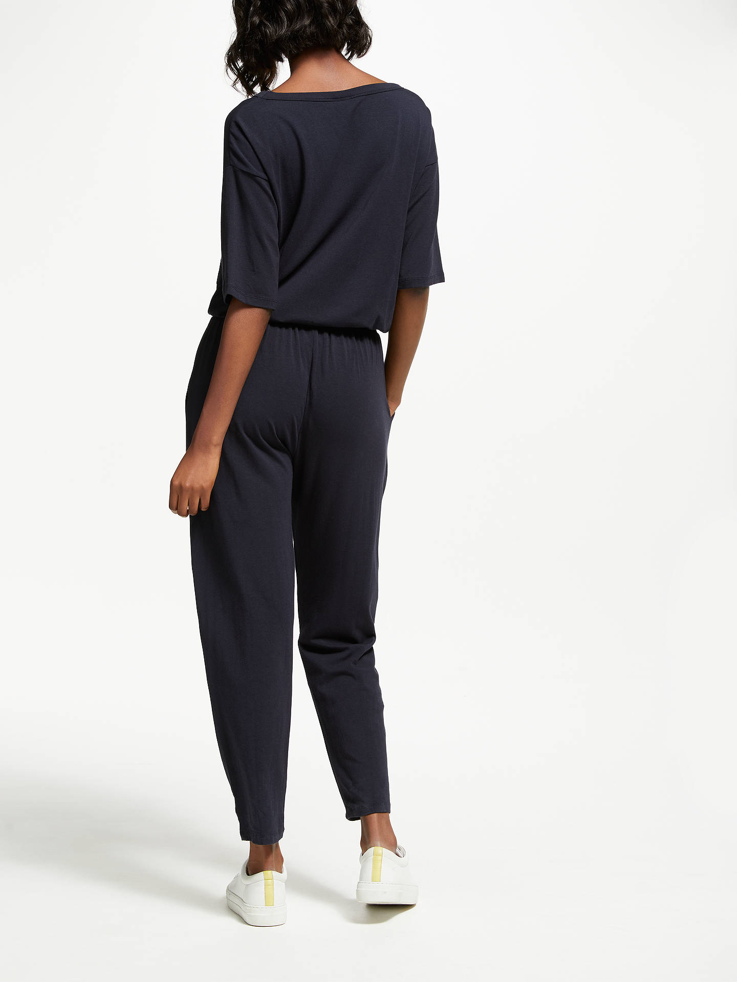 Buy Thought Sabine Jumpsuit, Navy, 8 Online at johnlewis.com