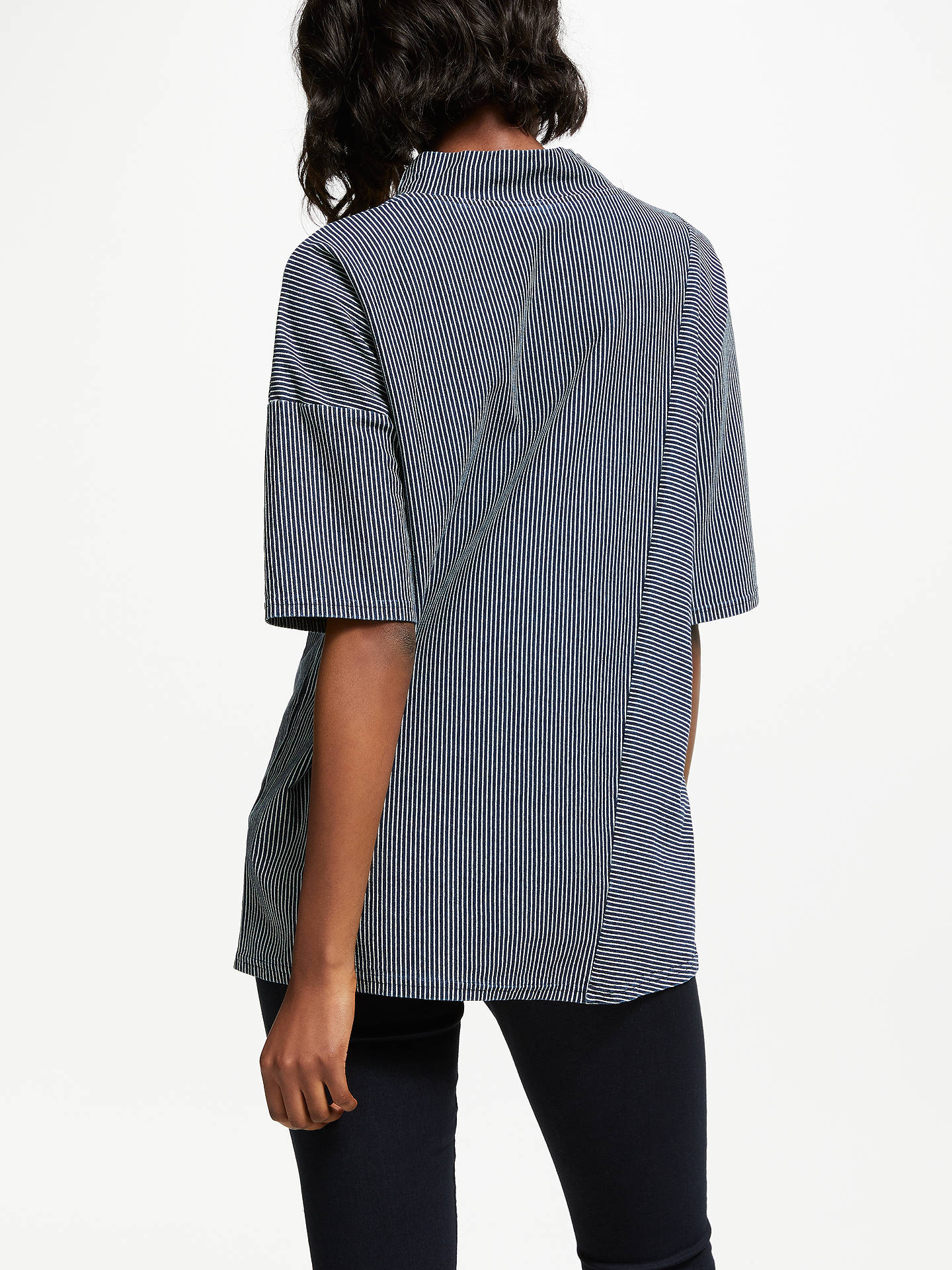 Buy Thought Nydia Top, Navy, 8 Online at johnlewis.com