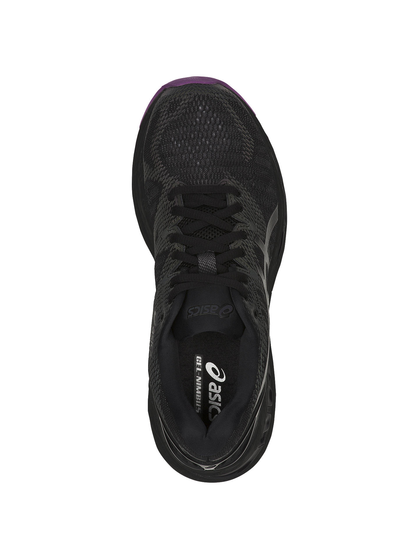 Buy ASICS GEL-NIMBUS 20 Women's Running Shoes, Black, 4 Online at johnlewis.com