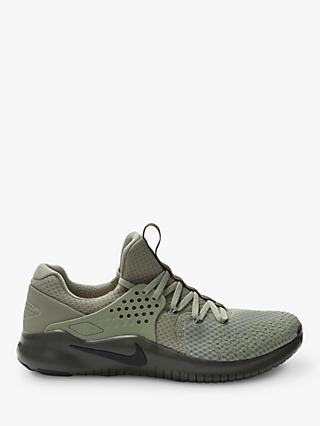 Nike Free Trainer v8 Men's Training Shoes, Dark Stucco/Newsprint Black