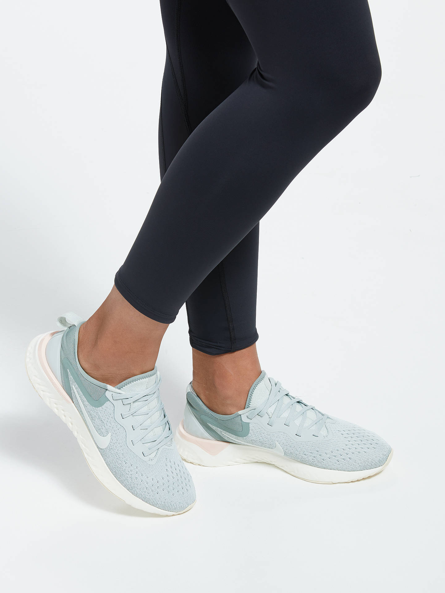 wholesale dealer 6ca49 3bd3a ... Buy Nike Odyssey React Women s Running Shoe, Light Silver Sail, 4  Online at ...