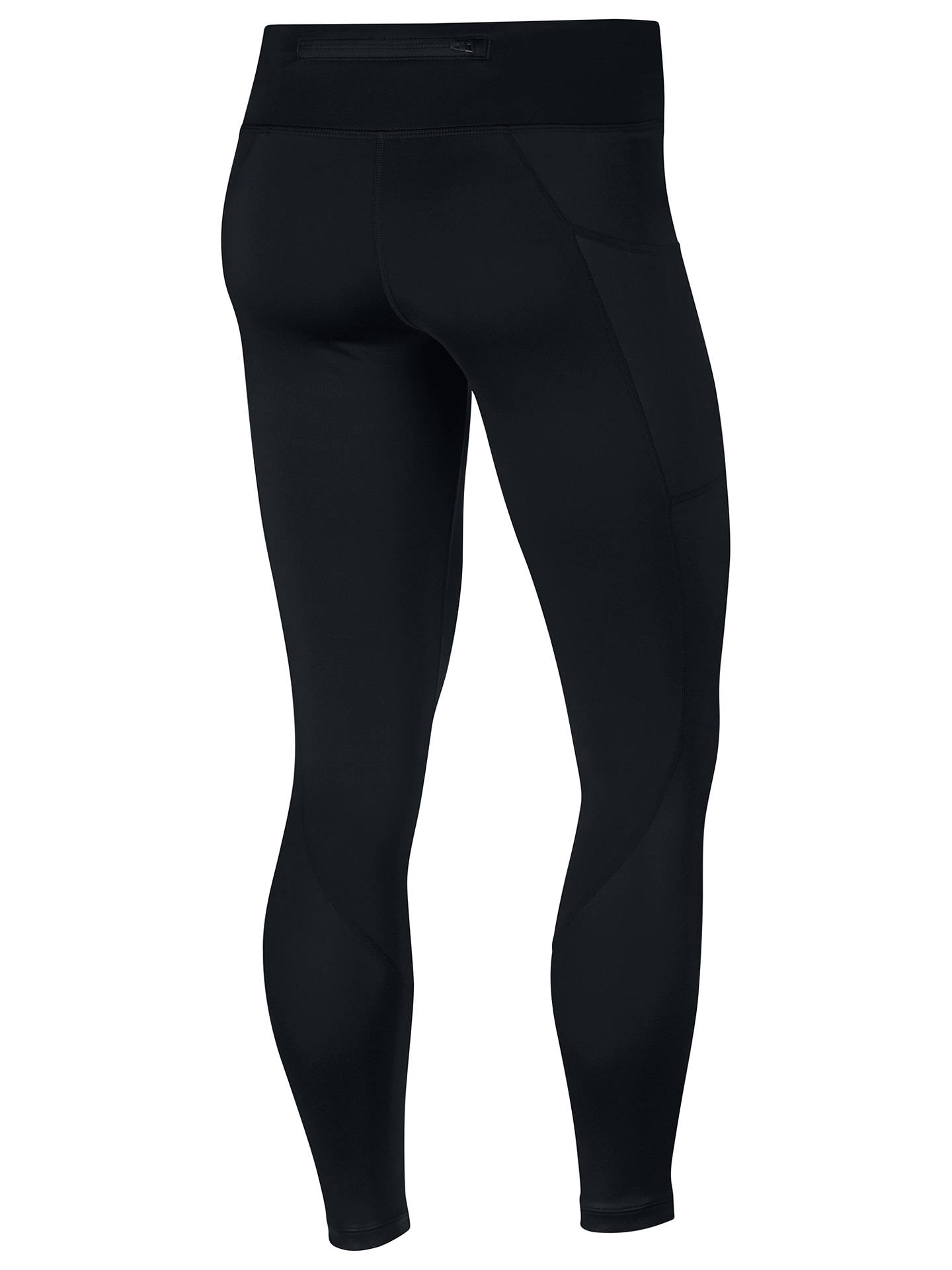 86ce82e5a73859 ... Buy Nike Power Racer Women's Running Tights, Black, XS Online at  johnlewis.com