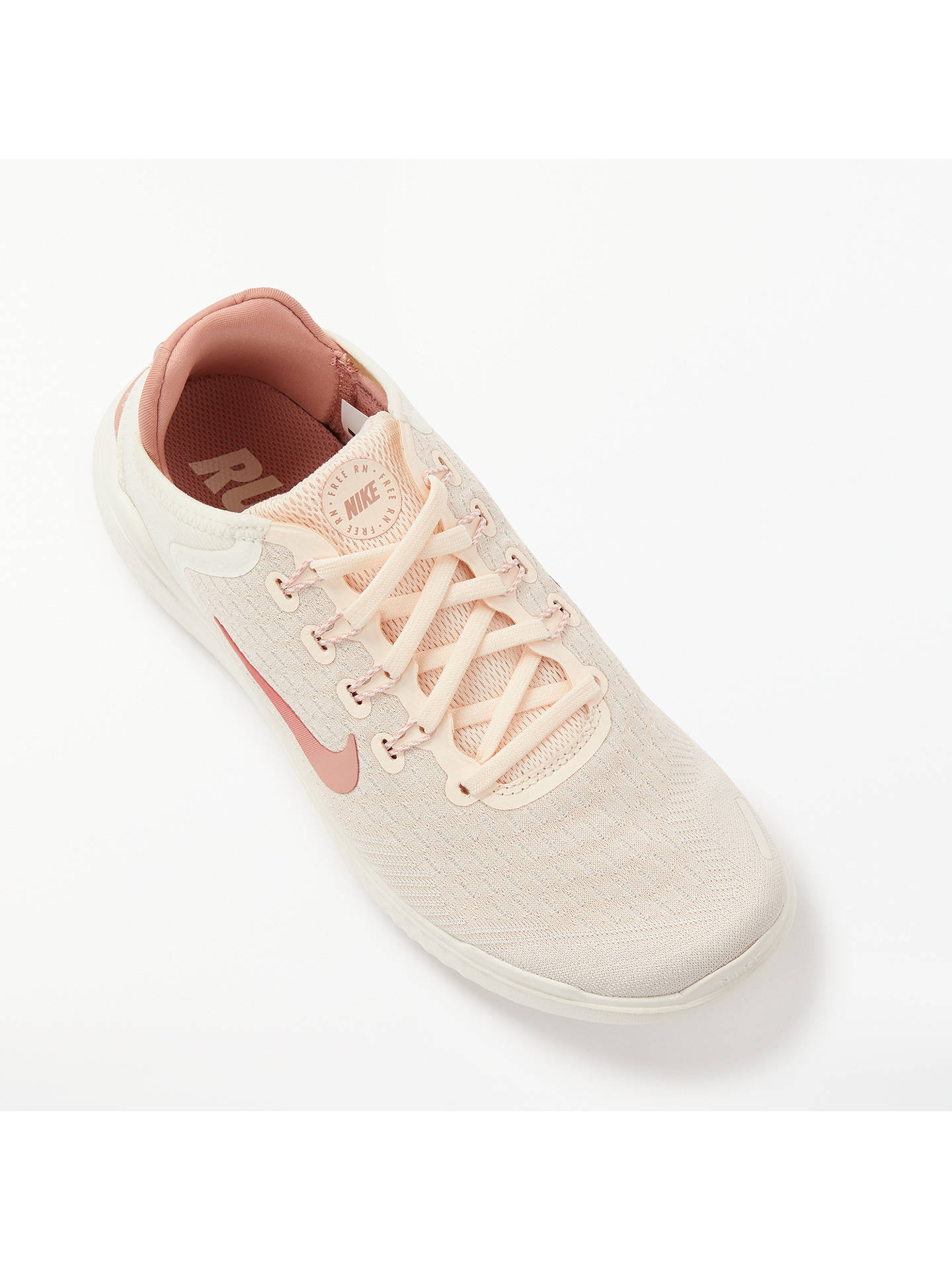 big sale bf13d e3d36 Nike Free RN 2018 Women's Running Shoes, Guava Ice/Rust Pink ...
