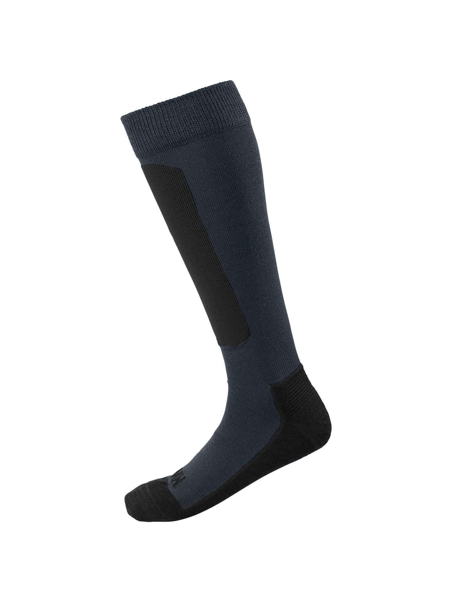 5e7a7fc3 Buy Helly Hansen Lifa Alpine Ski Socks, Graphite Blue, 11-13 Online at