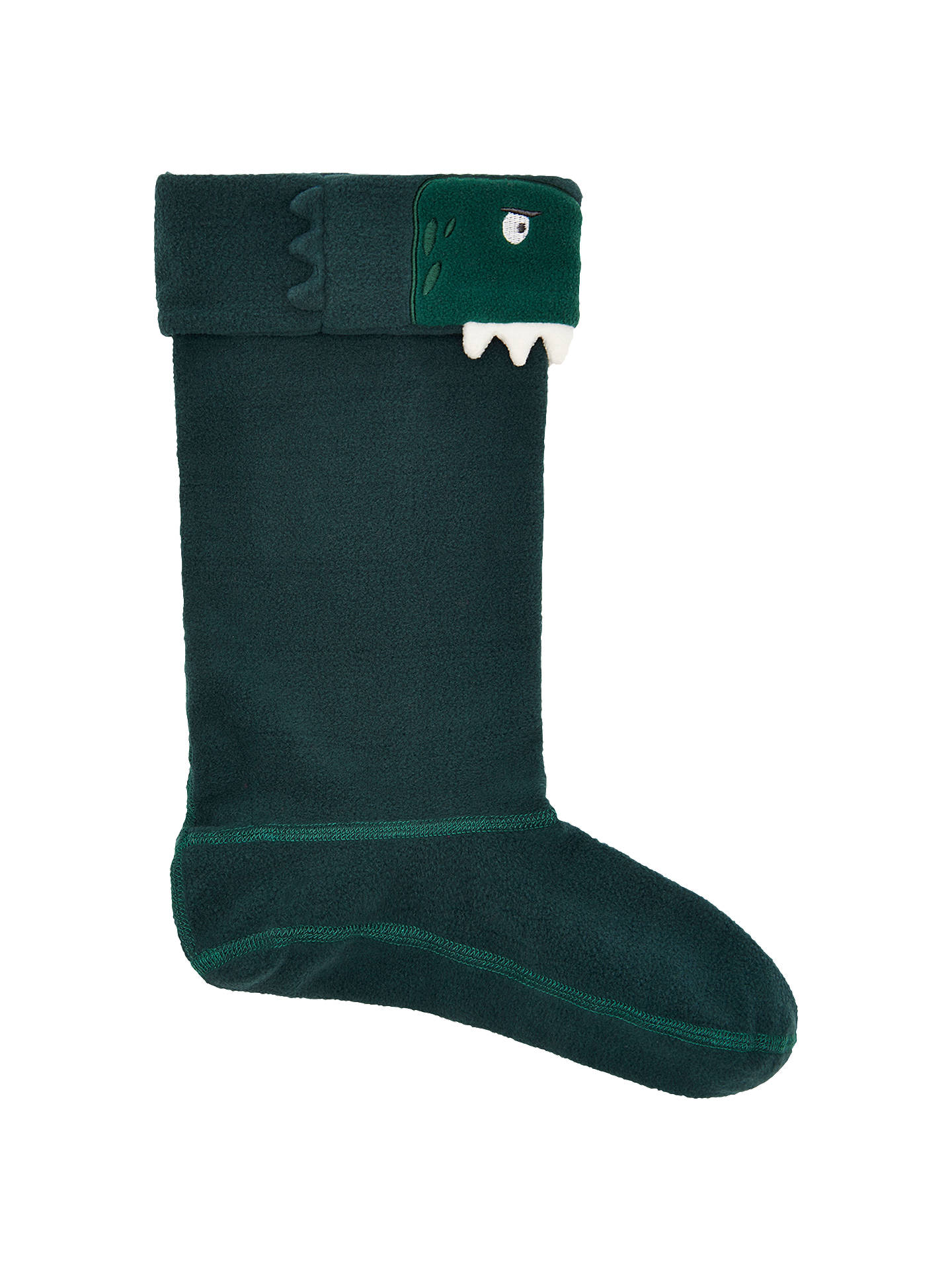 Buy Baby Joule Dinosaur Welly Socks, Green, 8-10 Jnr Online at johnlewis.com