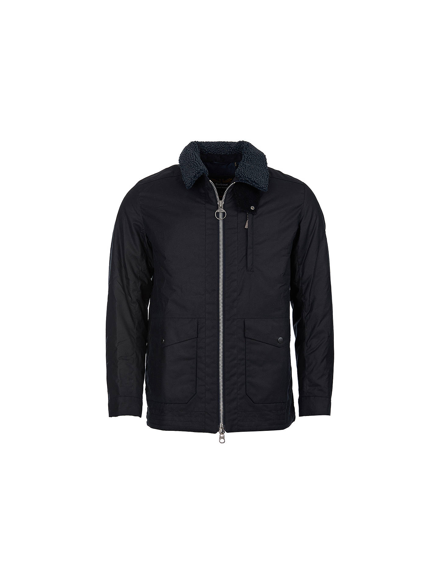 Buy Barbour Land Rover Defender Eden Quilted Jacket, Blue, M Online at johnlewis.com
