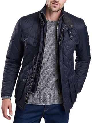 Barbour International Windshield Quilted Jacket, Navy