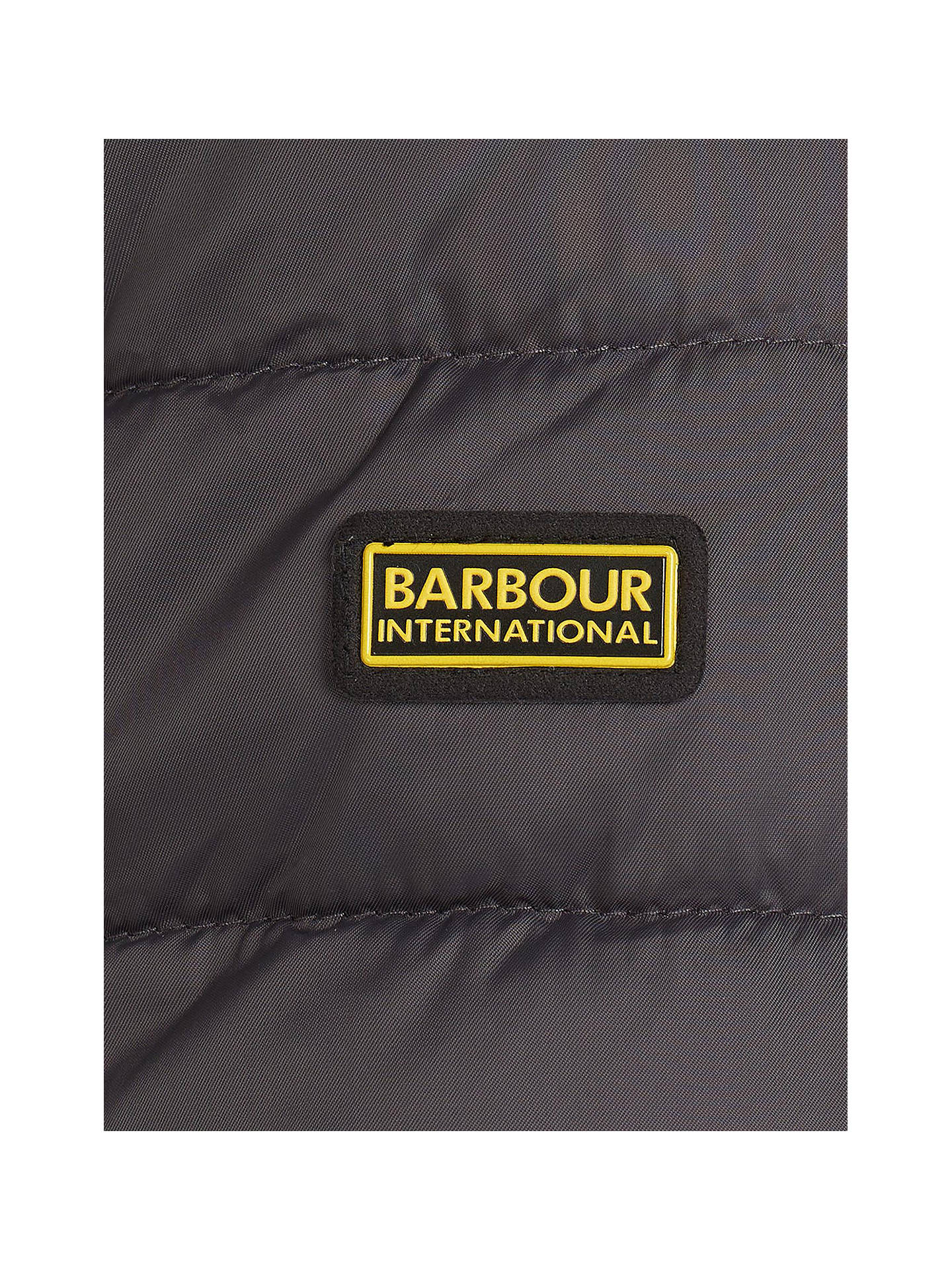 BuyBarbour International Impeller Quilted Jacket, Grey, M Online at johnlewis.com