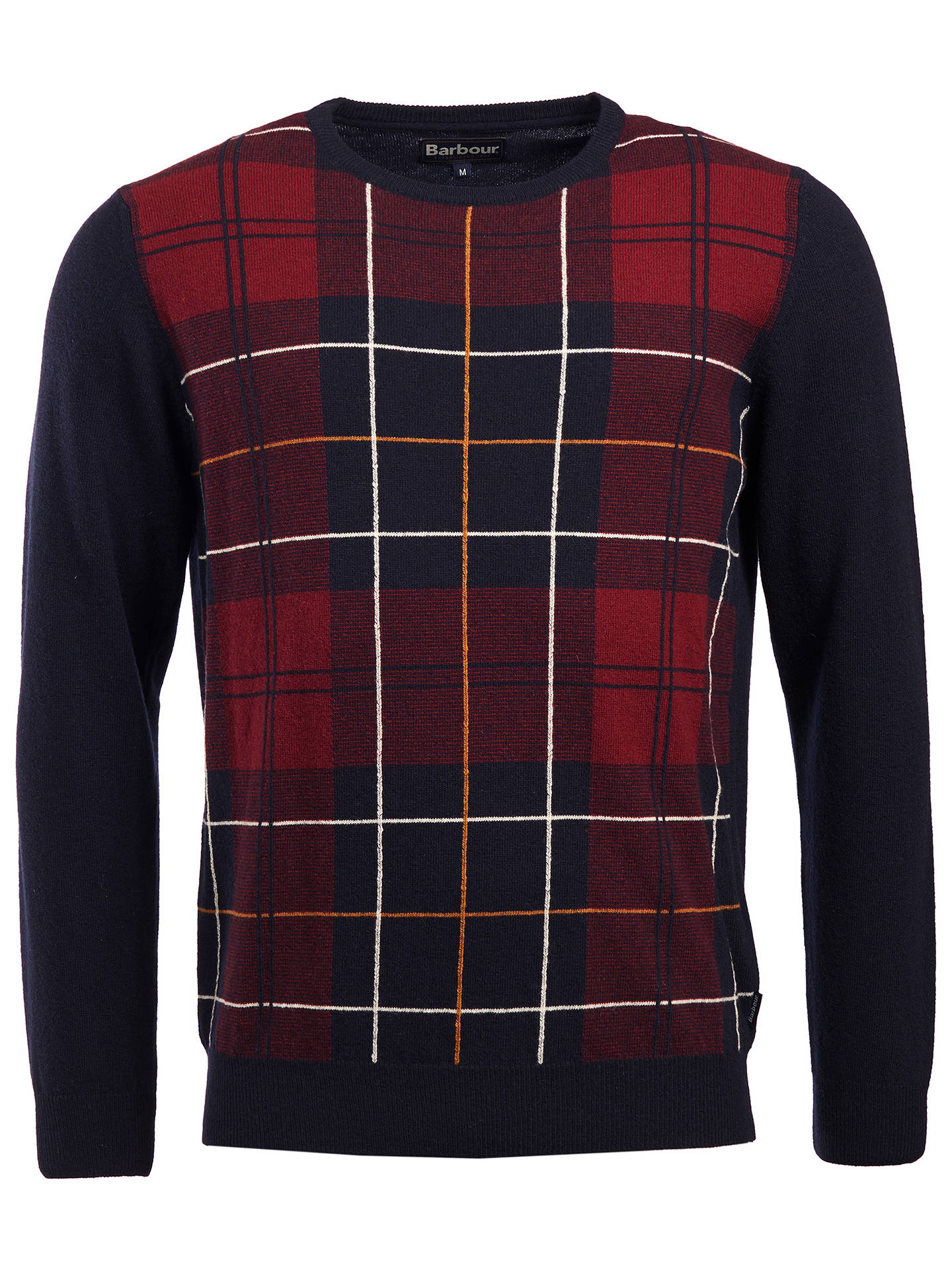 BuyBarbour Coldwater Crew Neck Jumper, Multi, M Online at johnlewis.com