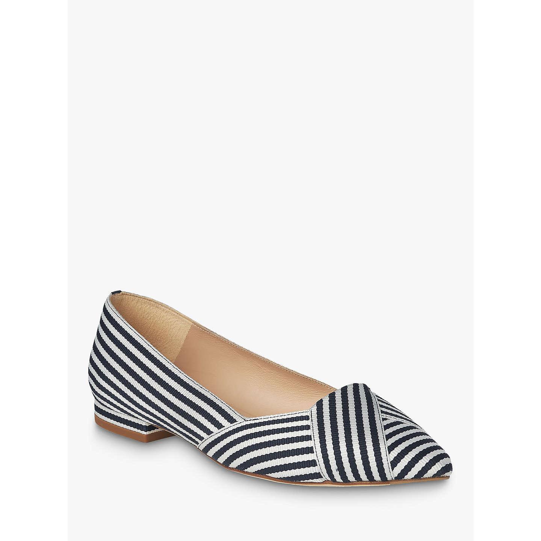 L.K. Bennett Savannah Flat Court Shoes, /