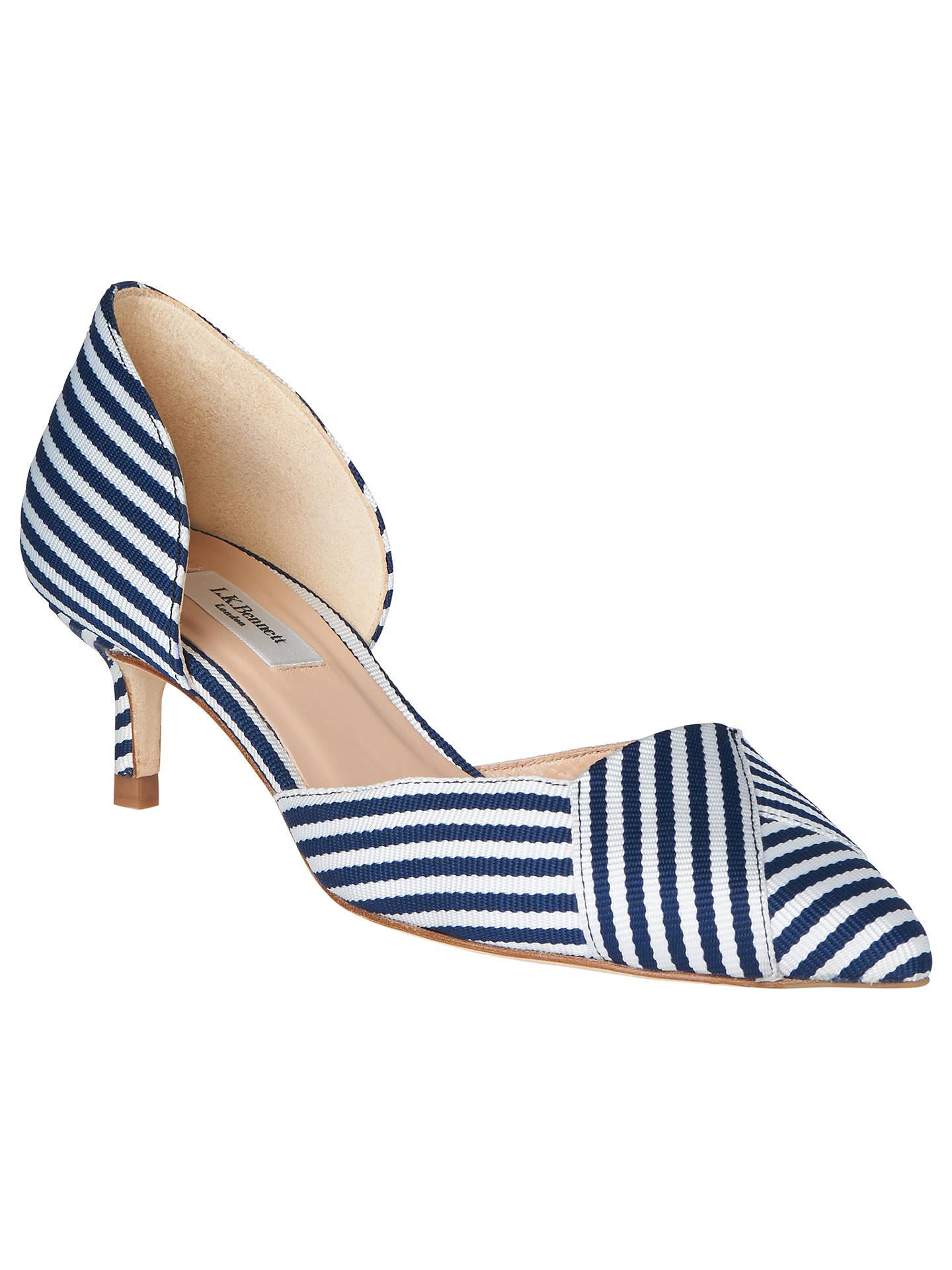 b1d64948523 ... Buy L.K.Bennett Steph Two Part Kitten Heel Court Shoes