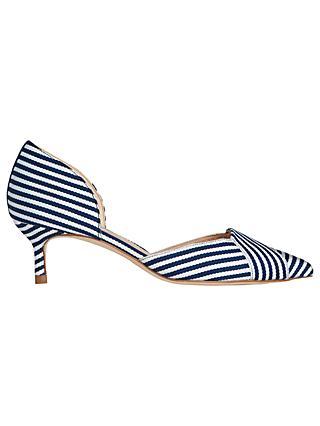 ecd7d6226d2 L.K.Bennett Steph Two Part Kitten Heel Court Shoes